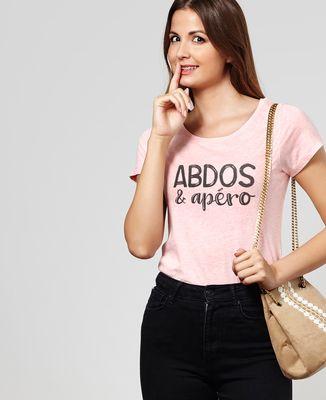 T-Shirt femme Abdos & apéro