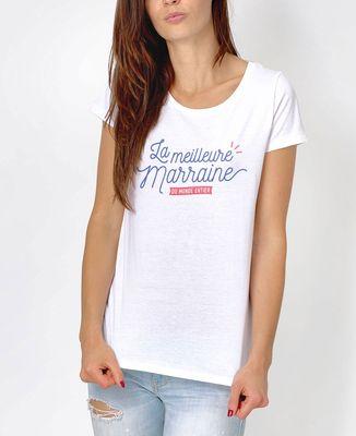T-Shirt femme La meilleure marraine