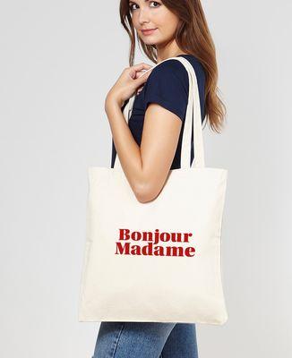 Tote bag Bonjour Madame