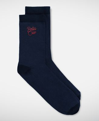 Chaussettes homme Bella Ciao (brodé)