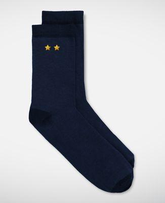 Chaussettes homme Deux étoiles (brodé)