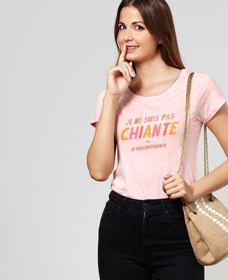 T-Shirt femme Je ne suis pas chiante