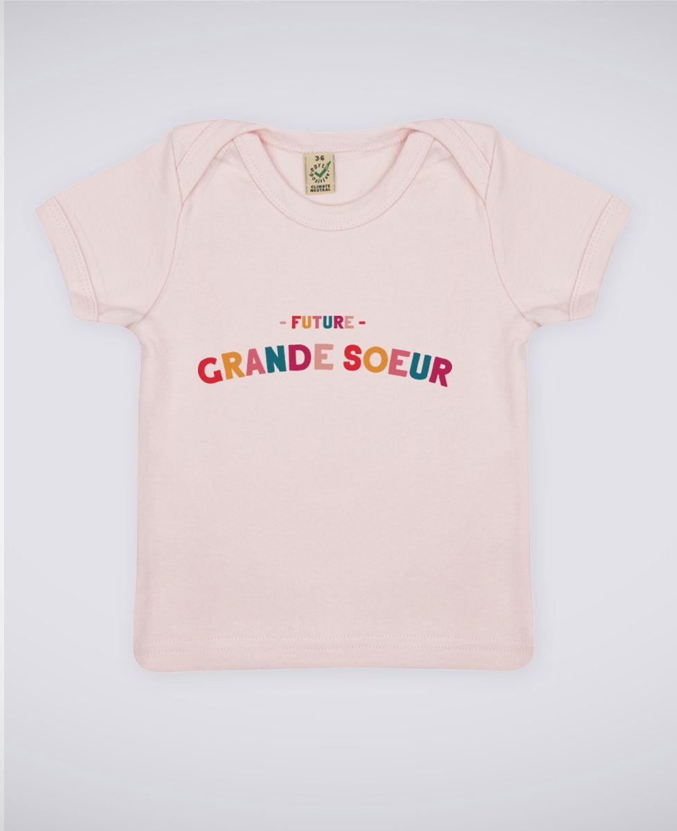 T-Shirt bébé Future grande soeur