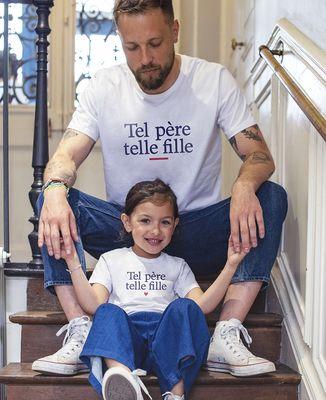 T-Shirt enfant Tel père telle fille