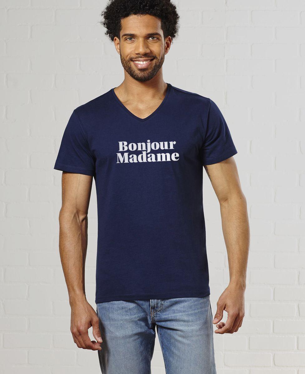 T-Shirt homme Bonjour Madame