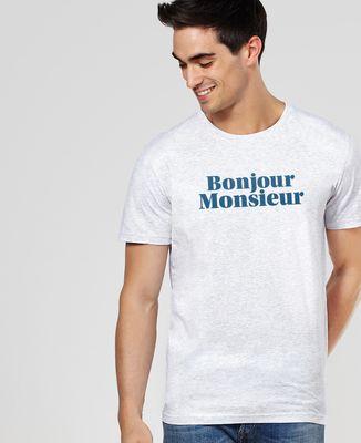 T-Shirt homme Bonjour Monsieur