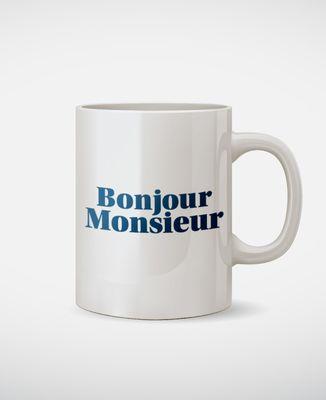 Mug Bonjour Monsieur