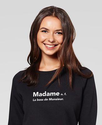 Sweatshirt femme Madame la boss