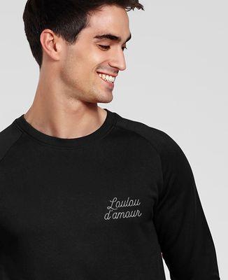 Sweatshirt homme Loulou d'amour (brodé)