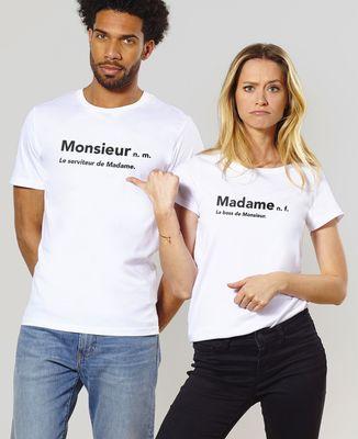 T-Shirt homme Monsieur le serviteur