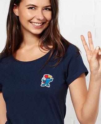 T-Shirt femme Footix (écusson)