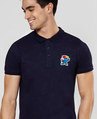 Polo homme Patch Footix