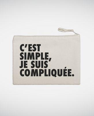 Pochette C'est simple je suis compliquée