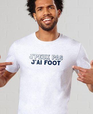 T-Shirt homme J'peux pas j'ai foot