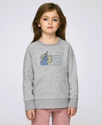 Sweatshirt enfant 3615 love