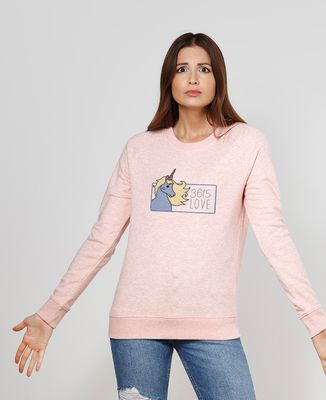 Sweatshirt femme 3615 love