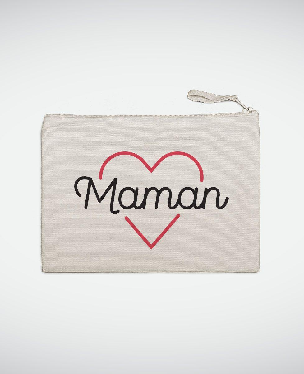Pochette Maman coeur