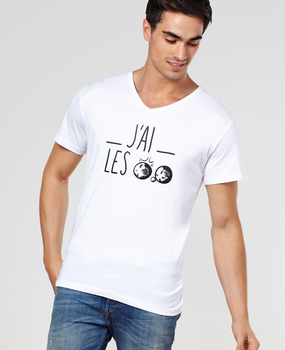 T-Shirt homme J'ai les boules
