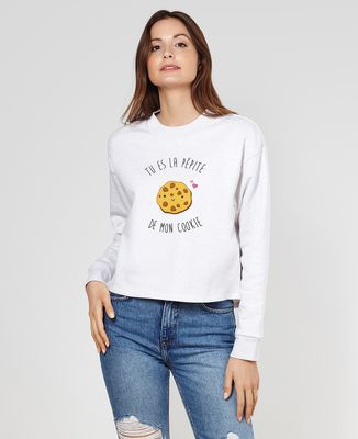 Sweatshirt femme Tu es la pépite de mon cookie