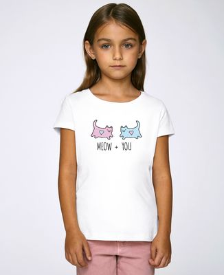 T-Shirt enfant Meow + You
