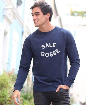 Sweatshirt homme Sale gosse (Effet velours)