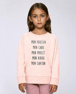 Sweatshirt enfant Mon poussin