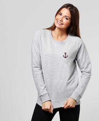 Sweatshirt femme Ancre (édition limitée)