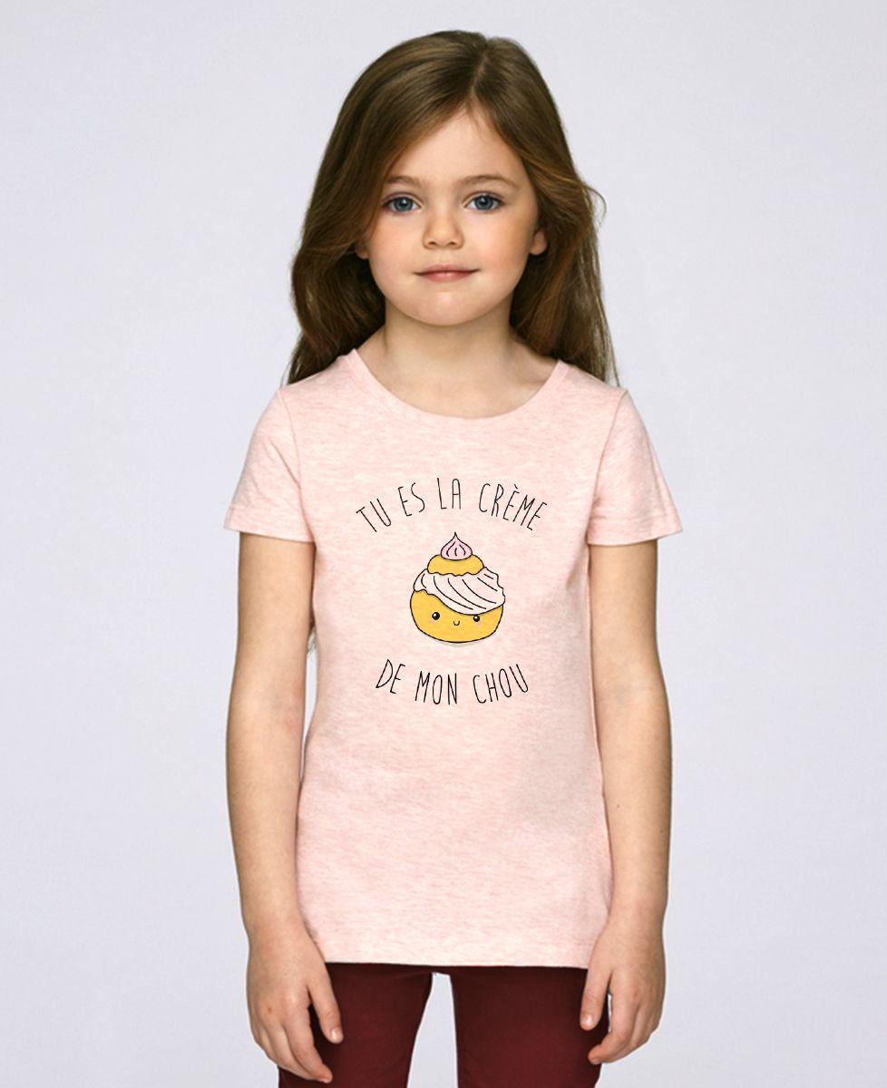 T-Shirt enfant Tu es la creme