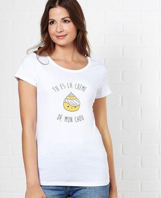 T-Shirt femme Tu es la creme