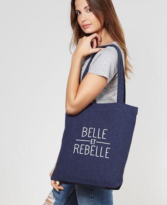 Tote bag Belle et rebelle