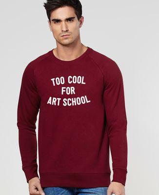 Sweatshirt homme Too cool for school