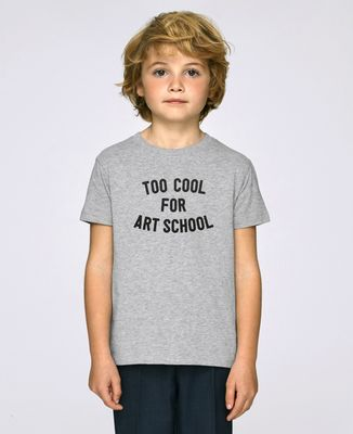 T-Shirt enfant Too cool for school