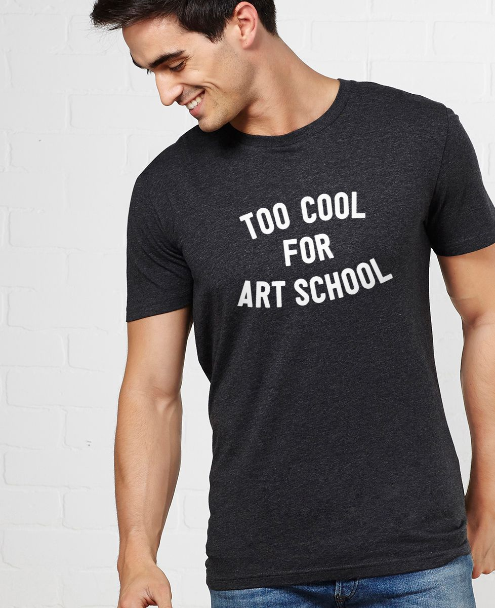 T-Shirt homme Too cool for school