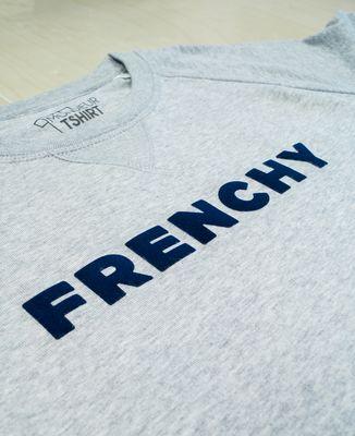 Sweatshirt homme Frenchy (effet velours)