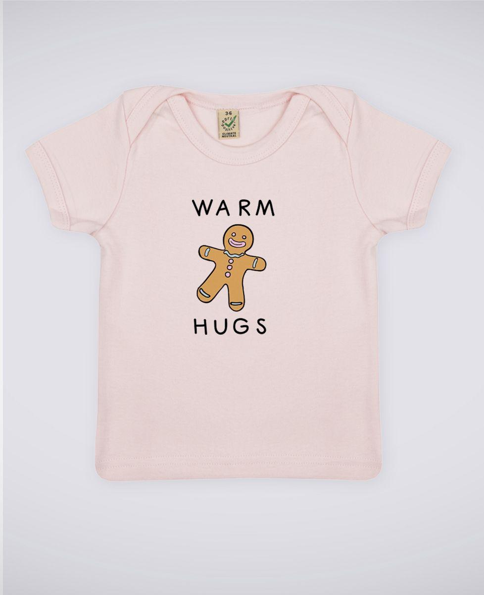 T-Shirt bébé Warm hugs