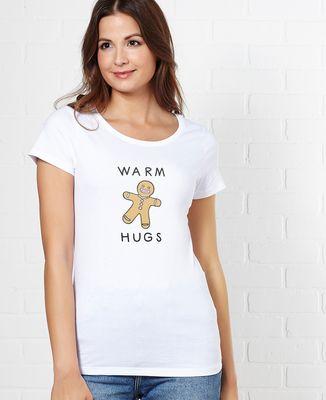 T-Shirt femme Warm hugs