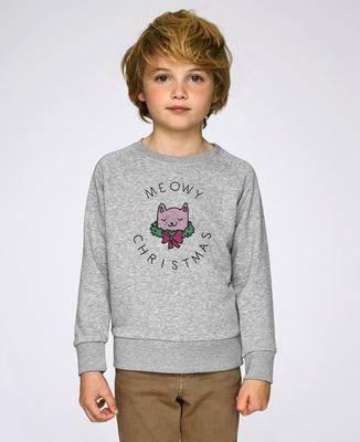 Sweatshirt enfant Meowy Christlas