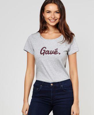 T-Shirt femme Gavé (effet velours)