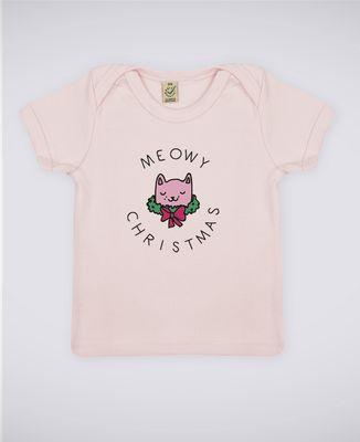 T-Shirt bébé Meowy Christmas