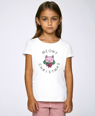 T-Shirt enfant Meowy Christlas