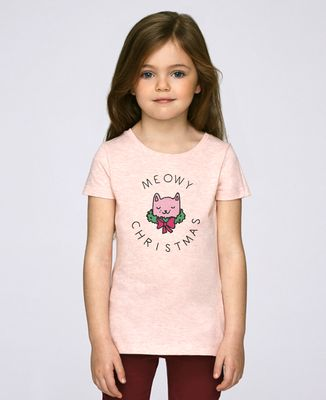 T-Shirt enfant Meowy Christmas