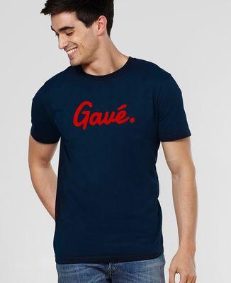 T-Shirt homme Gavé (effet velours)