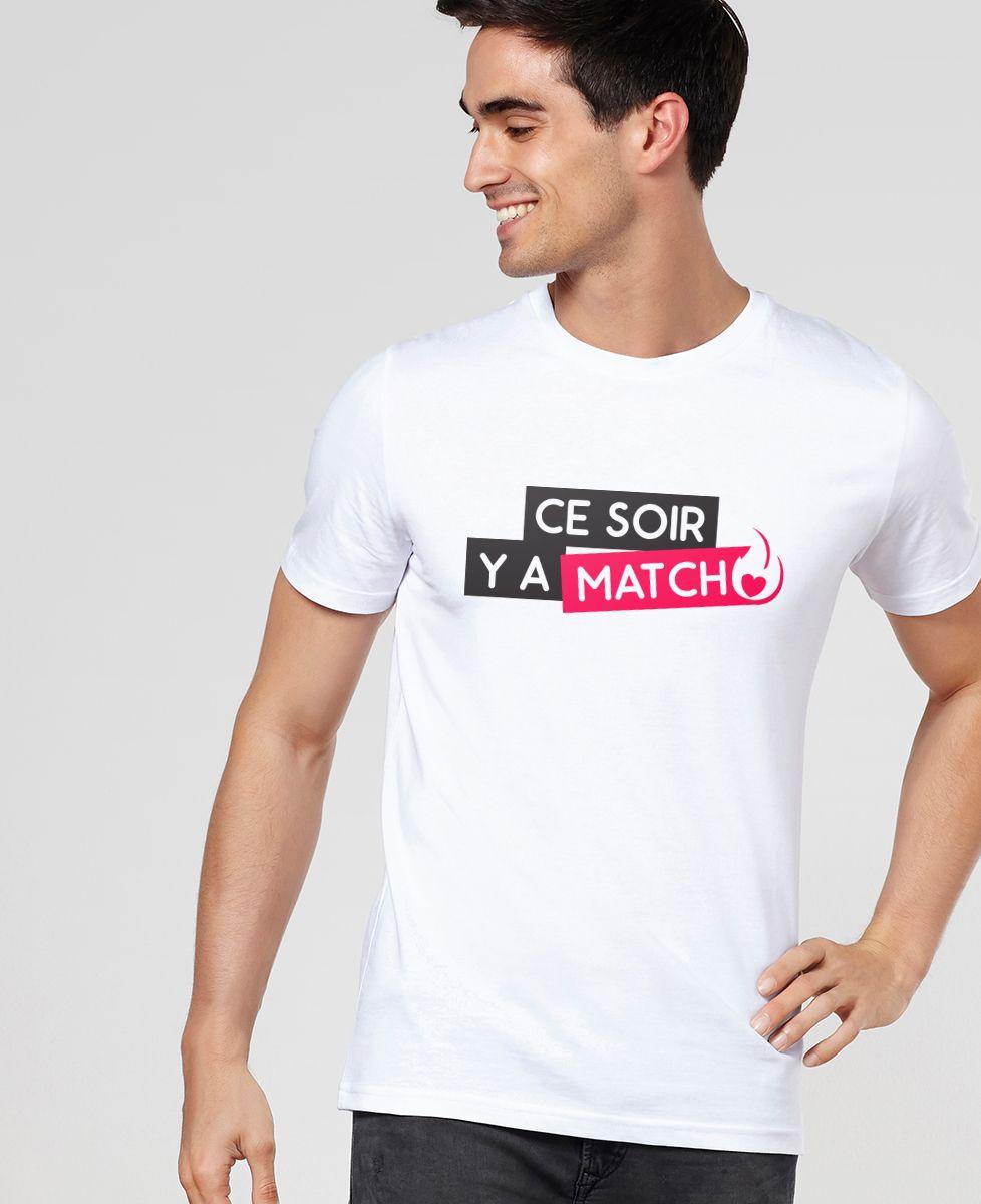 T-Shirt homme Tinder