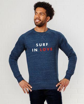 Sweatshirt homme Surf in love