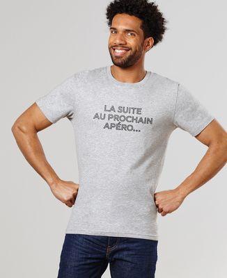 T-Shirt homme Suite au prochain apéro