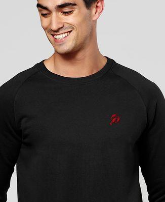 Sweatshirt homme Homard (brodé)