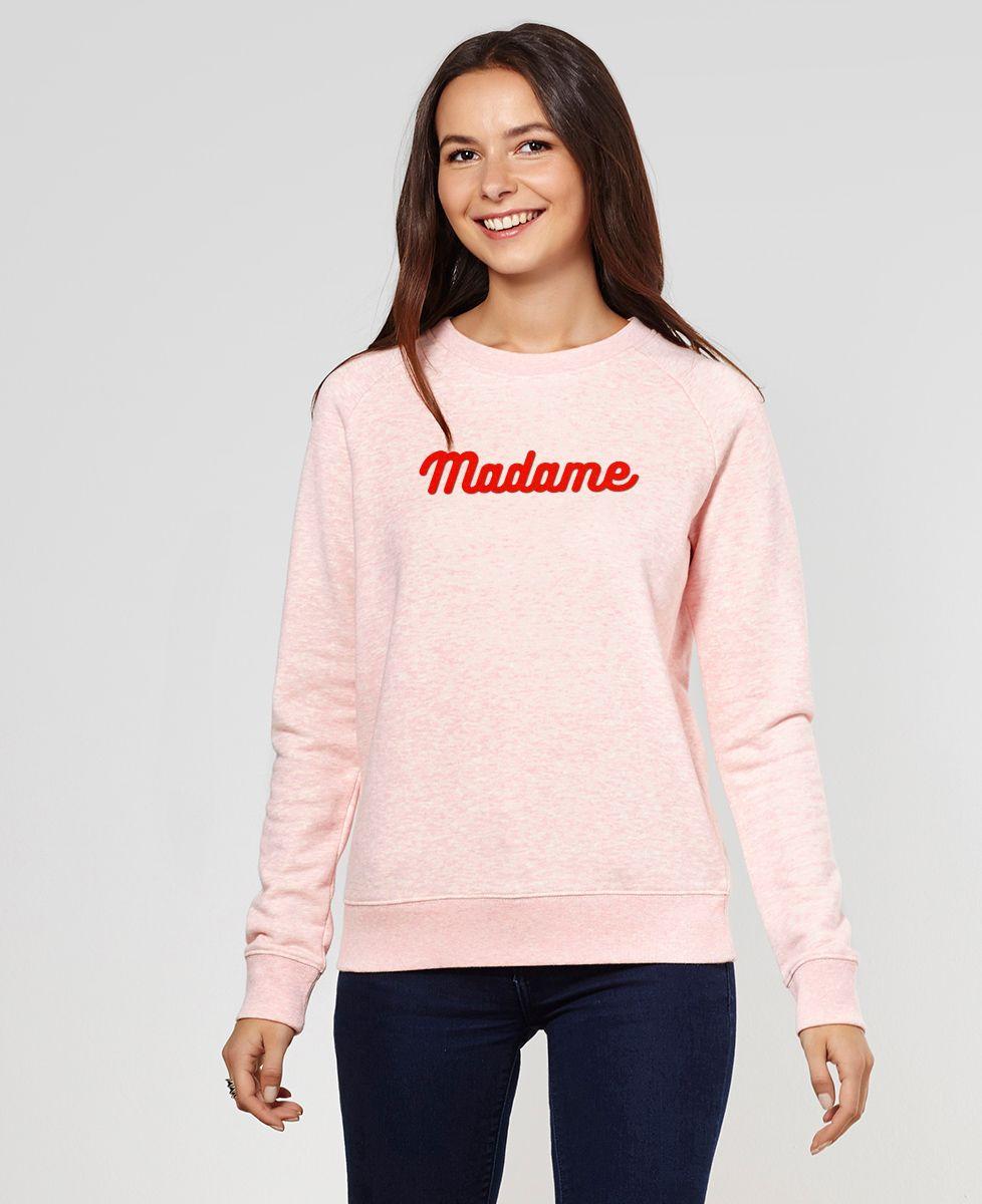Sweatshirt femme Madame (édition limitée)