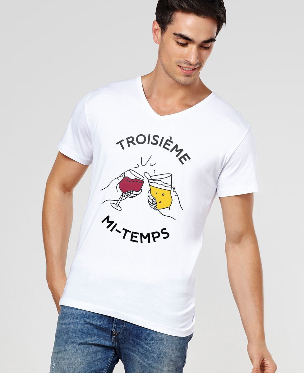 T-Shirt homme 3ème Mi-Temps
