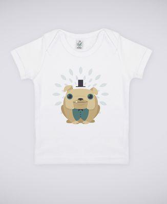 T-Shirt bébé Bulldog