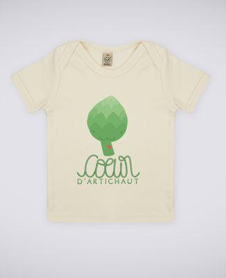 T-Shirt bébé Coeur d'artichaut